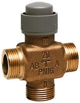 V5833A trieigis ventilis; 2,5 mm; DN15/20; PN16