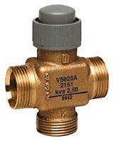 V5823A trieigis ventilis; 2,5 mm; DN15/20; PN16