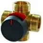 VRB142 ketureigis rotorinis ventilis; DN15-50; PN10